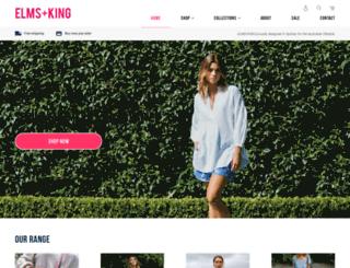 elmsandking.com screenshot