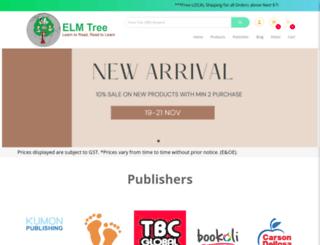 elmtreebooks.com screenshot
