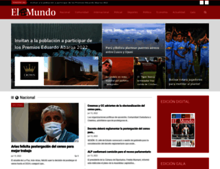 elmundo.com.bo screenshot