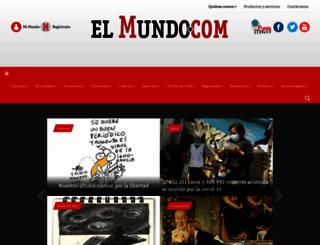 elmundo.com screenshot