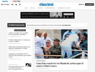 elnuevoherald.com screenshot