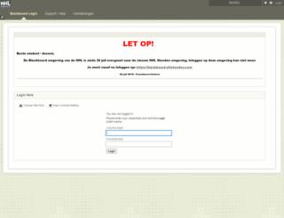 elo.nhl.nl screenshot
