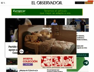elobservador.com.uy screenshot