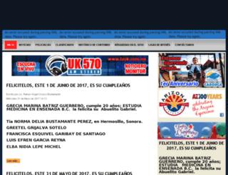 elobservadorarizonamexico.com screenshot