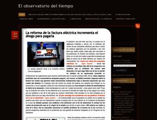 elobservatoriodeltiempo.wordpress.com screenshot