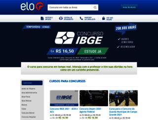 eloconcursos.com.br screenshot