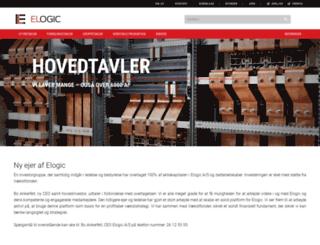 elogic.dk screenshot