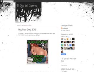 elojodelcuervo.blogspot.com screenshot
