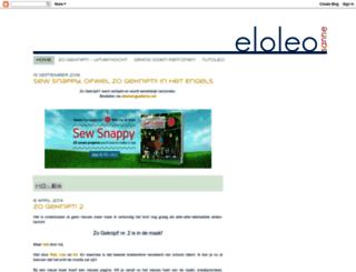 eloleo.blogspot.nl screenshot