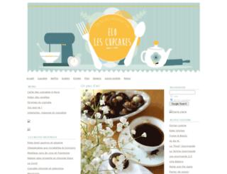 elolescupcakes.typepad.com screenshot