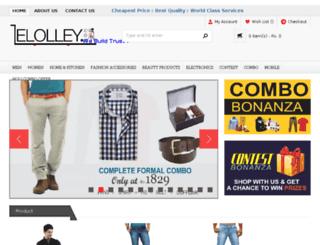 elolley.com screenshot