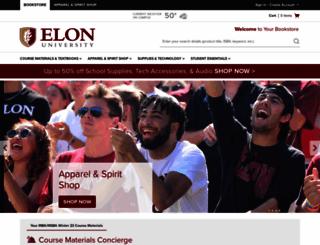 elon.bncollege.com screenshot