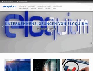 eloquium.eu screenshot
