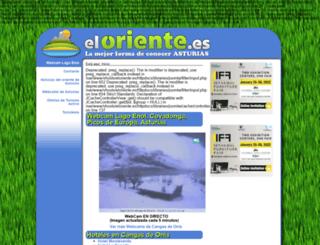 eloriente.es screenshot