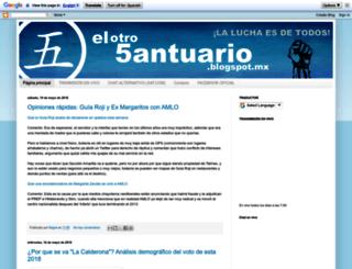 elotro5antuario.blogspot.com screenshot