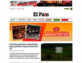 elpaisonline.com screenshot