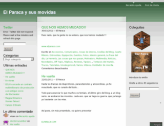 elparacaysusmovidas.wordpress.com screenshot