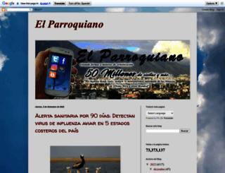 elparroquianoultimahora.blogspot.com.ar screenshot