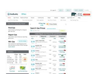 elpasogasprices.com screenshot