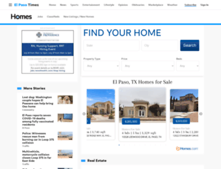 elpasotimesrealestate.com screenshot