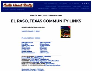 elpasotx.org screenshot