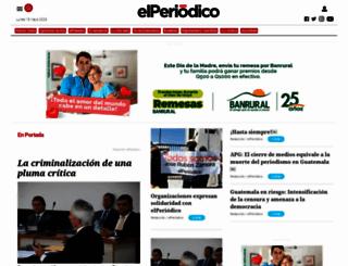 elperiodico.com.gt screenshot