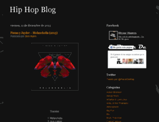 elplacerdelrap.blogspot.com screenshot
