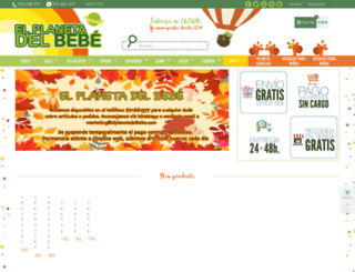 elplanetadelbebe.com screenshot