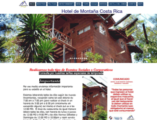 elporticohotel.com screenshot
