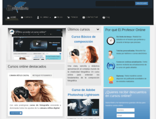 elprofesoronline.com screenshot