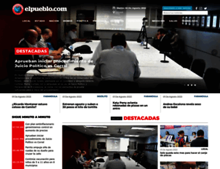 elpueblo.com screenshot