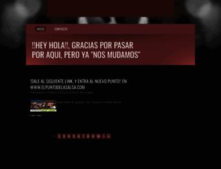 elpuntodelasalsa.over-blog.es screenshot