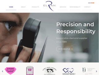 elran-diamonds.com screenshot