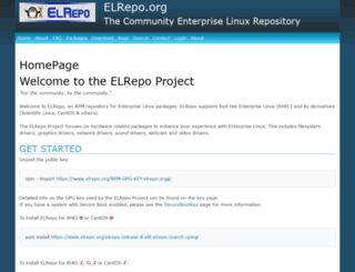 elrepo.org screenshot