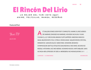 elrincondellirio.blogspot.mx screenshot