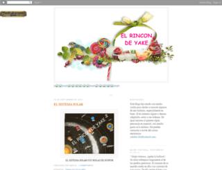 elrincondeyake.blogspot.com screenshot