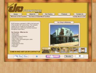 elromeubels.co.za screenshot