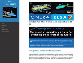 elsa.onera.fr screenshot