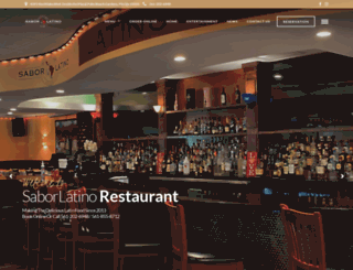 elsaborlatinorestaurant.com screenshot
