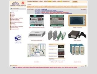 elsaco.cz screenshot