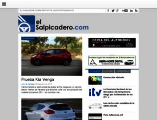 elsalpicadero.com screenshot