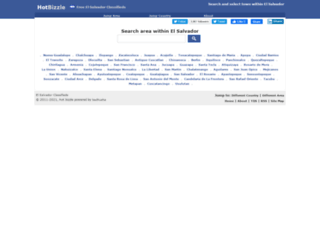 elsalvador.hotbizzle.com screenshot