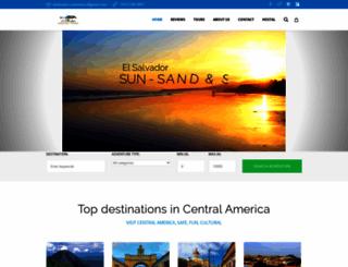 elsalvadorcustomtours.com screenshot