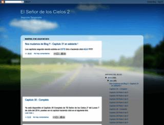 elsenordeloscielos2014.blogspot.com screenshot