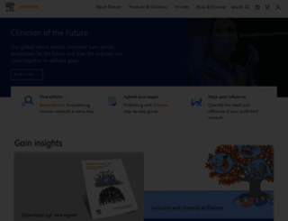 elsevier.com screenshot