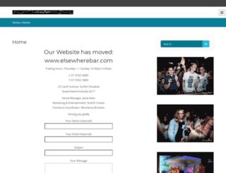 elsewherebar.com.au screenshot