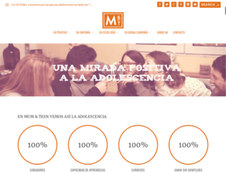 elsuenodeteresa.com screenshot