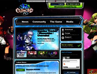 elsword.org screenshot