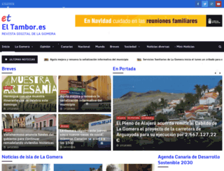 eltambor.es screenshot