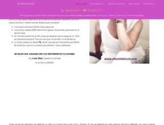 eltarotdelucia.com screenshot